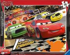 CARS 1ST GO THE FINISH PUZZLE RAVENSBURGER 36d
