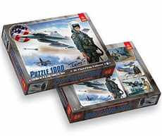 F-16 FIGHTING FALCON PUZZLE TREFL 1000 dílků