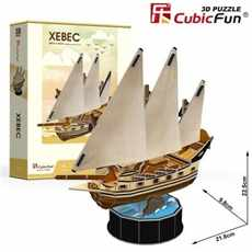 PUZZLE 3D CUBIC FUN T4034H PLACHETNICE XEBEC