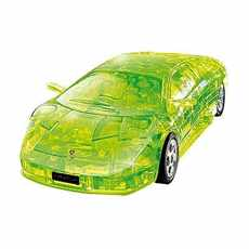 PUZZLE FUN 3D 57065 LAMBORGHINI MURCIELAGO GREEN TRANSPARENT