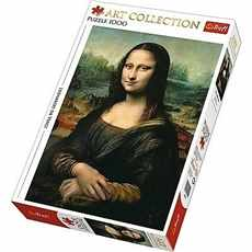 PUZZLE TREFL ART COLLECTION 1000 dílků 10542 LEONARDO DA VINCI MONA LISA