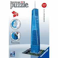 VĚŽ ONE WORLD TRADE CENTER PUZZLE RAVENSBURGER 3D 125623 216d.